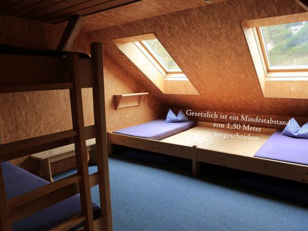 Schlafplätze stehen nur mehr beschränkt zur Verfügung-bitte reservieren Sie frühzeitig Ihren Schlafplatz