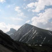 Blick vom Freyungenweg auf Gr. + Kl. Solstein