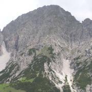 Blick vom Solstein auf die Erlspitze